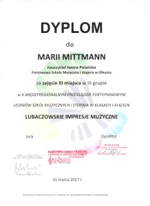 Lubaczów Maria Mittmann