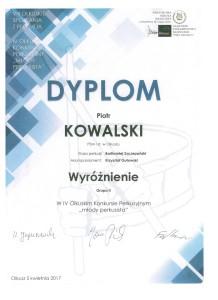 perkusja-Piotr Kowalski
