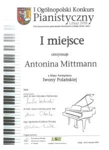 Antonina Mittmann Libiąż